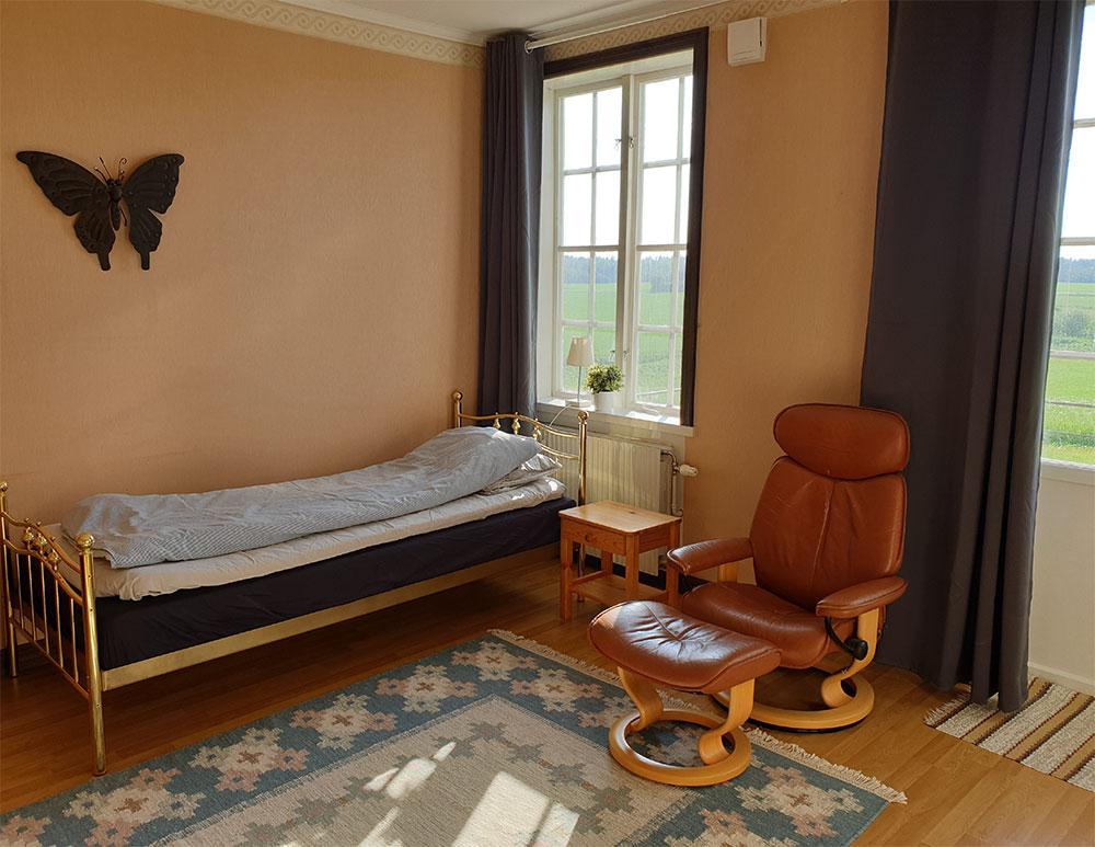 Villa Backberg sovrum